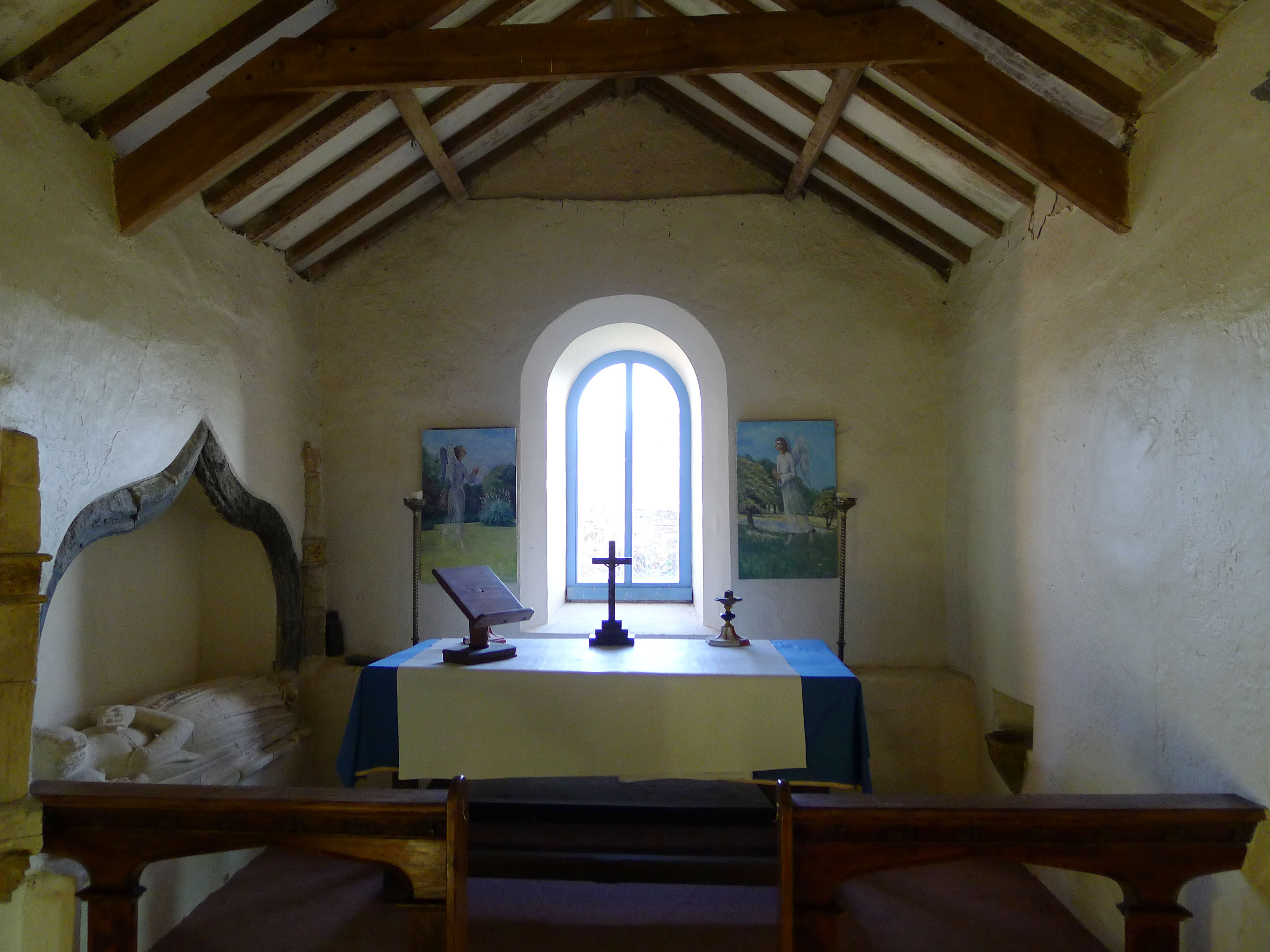 Medieval Chapel Upton Castle Gardens And Medieval Chapel